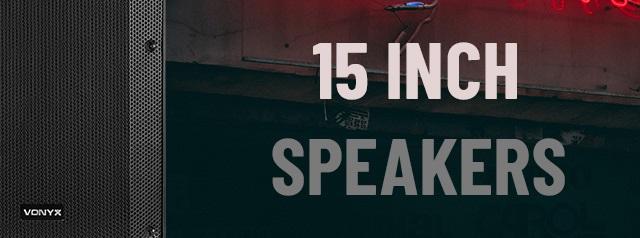 15 Inch VSA Speakers