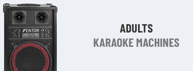 Adults Karaoke Machines