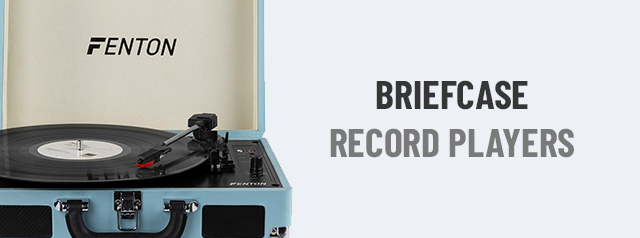 Briefcase Record Players