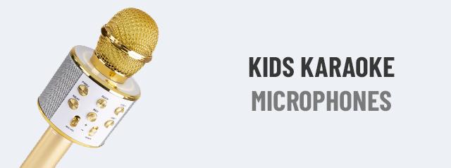 Kids Karaoke Microphones