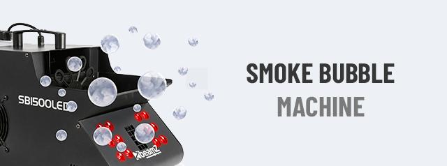 Smoke Bubble Machine