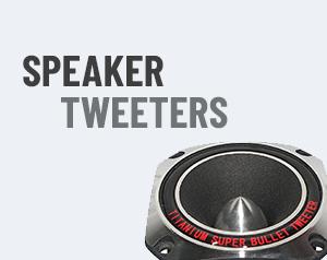Speaker Tweeters