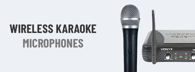 Wireless Karaoke Microphones